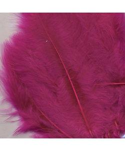 Veren Marabou Fuchsia 8,5-12,5cm 15st