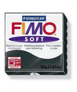 Fimo soft Boetseerklei 57gr. nr. 9 Zwart