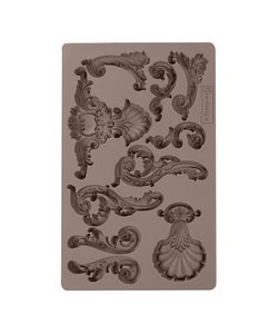 Prima Marketing mould 5x8 inch. Oceanica Flourish