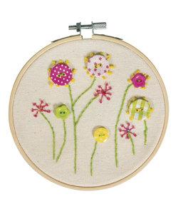 DIY Set Borduren Bloemen