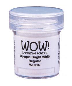 Wow Embossing Powder Opaque Bright White Regular 15ml