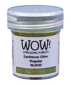 Wow Embossing poeder Earthtone Olive