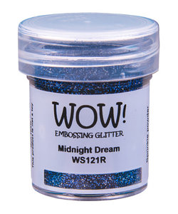 Wow Embossing Powder Glitter Midnight Dream 15ml
