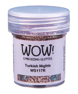 Wow Embossing Powder Glitter Turkish Nights 15ml