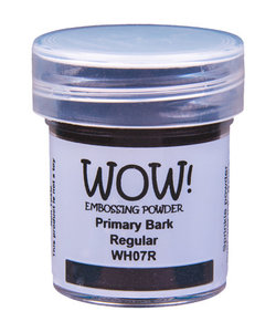 Wow Embossing Powder Primary Bark 15ml