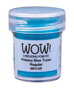 Wow Embossing Powder Primary Blue Topaz 15ml