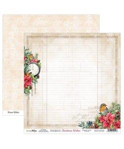 ScrapBoys Achtergrond Papier Christmas Wishes 30,5x30,5cm  nr. 01