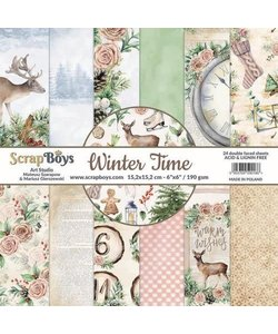 ScrapBoys  Winter Time 30,5x30,5cm  12 double faced sheets