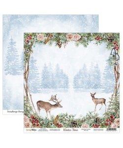 ScrapBoys Achtergrond Papier Winter Time 30,5x30,5cm  nr. 01