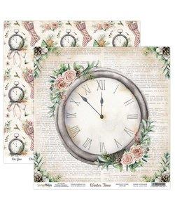 ScrapBoys Achtergrond Papier Winter Time 30,5x30,5cm  nr. 03