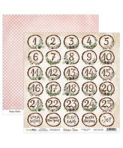 ScrapBoys Achtergrond Papier Winter Time 30,5x30,5cm  nr. 05