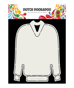 Dutch Doobadoo Snij Stencil Kerst Trui