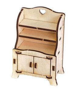 Houten 3D Poppenhuis Miniaturen Kast 4,2x7,5x11cm
