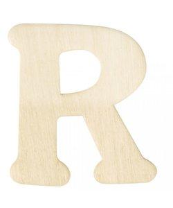 Houten Letter R 0,3x4cm