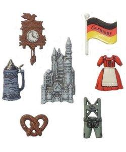 Dress it Up button Destination Germany