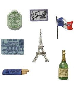 Dress it Up button Destination France