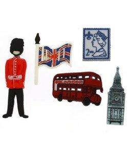 Dress it Up button destination England