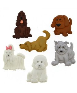 Dress it Up button dogs puppy parade
