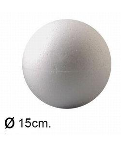 Piepschuim Bal 15cm