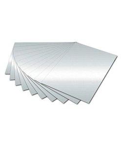 Fotokarton 300g 50x70cm zilver metalic