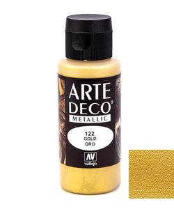 Arte Deco Acrylverf Metallic 60ml Gold