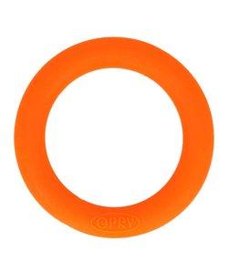 Opry Siliconen Bijtring Rond 5,5cm Oranje