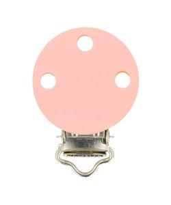 Siliconen Speenklem roze 29.5x42.7 mm.