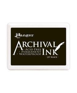Ranger Archival Ink Pad Jumbo Jet Black