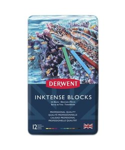 Derwent Inktense Blocks Set 12st