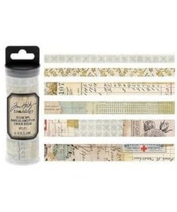 Tim Holtz Idea-Ology Design Tape Salvaged 6st