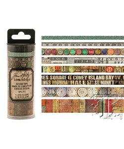 Tim Holtz Idea-Ology Design Tape Vintage 8st