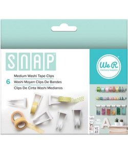 We R Memory Keepers Snap Washi Tape Clips M