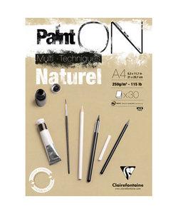 Paint On Multi Techniques Papier Naturel A4 250g