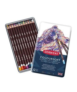 Derwent Coloursoft Potloden Set 12st