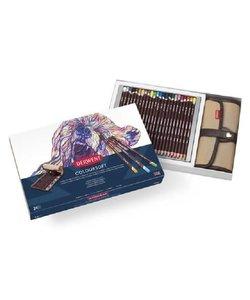 Derwent Coloursoft Wrap set 24 potloden + wrap