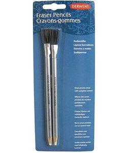 Derwent Eraser Pencils & Brushes Set 2st