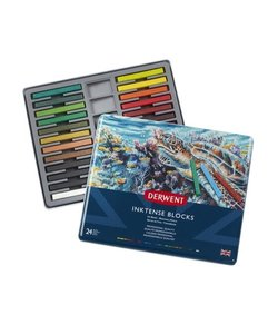 Derwent Inktense Blocks Set 24st