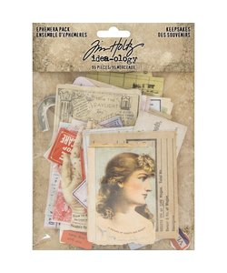 Idea-ology Tim Holtz Ephemera Keepsakes 95pcs.