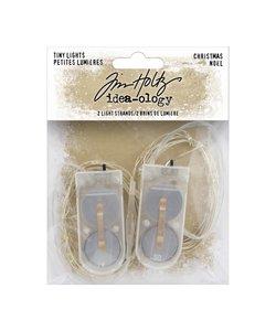 Tim Holtz Idea-Ology Tiny lights Christmas 2st