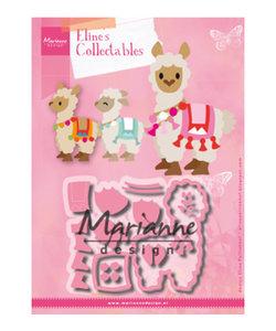 Marianne Design Collectables Eline's Alpaca