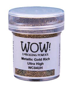 Wow Embossing Powder Metallic Gold Rich Ultra High 15ml