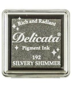 Delicata Inkpad Mini Silvery Shimmer