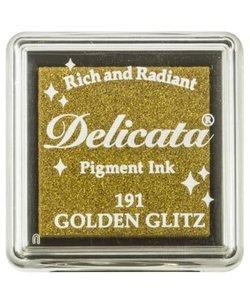 Delicata Inkpad Mini Golden Glitz