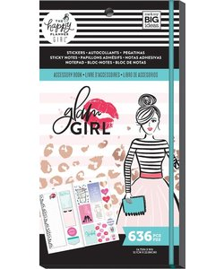 Happy Planner Sticker Accessory Book Glam Girl