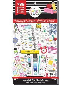 Happy Planner Sticker Value Pack Teachers Rule