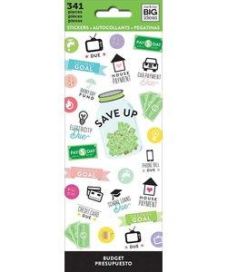 Me & My Big Ideas Stickers Budget