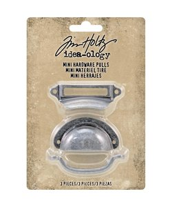 Tim Holtz Idea-Ology Mini Hardware Pulls 3 pcs.