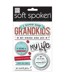 Me & My Big Ideas Soft Spoken I Love My Grandkids