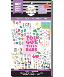 Happy Planner Sticker Value Pack Student