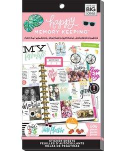 Happy Planner Sticker Value Pack Everyday Memories